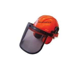 Chainsaw Safety Helmet with Ear Muffs | Mowerparts.ie